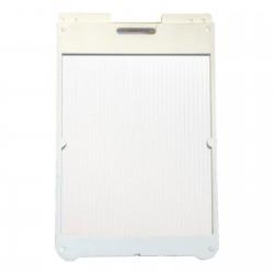 "25"" x 36"" White Poly Plastic A-Frame - Correx White Panels"