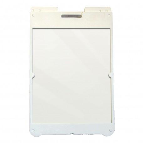 "25"" x 36"" White Poly Plastic A-Frame - Acrylic White Panels"