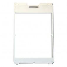 "25"" x 36"" Poly Plastic A-Frame - Acrylic White Panels"