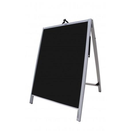 """36"""" PVC A-Frame Sign - Corex Black Panels"""