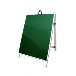 "36"" PVC A-Frame Sign - Chalkboard Green Panels"