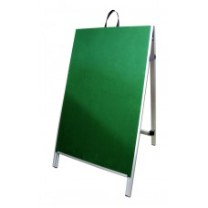 "48"" PVC A-Frame Sign - Chalkboard Green Panels"