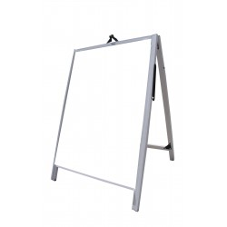 "36"" PVC A-Frame Sign - Acrylic White Panels"