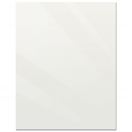 "22"" x 28"" Acrylic White Replacement Panel"