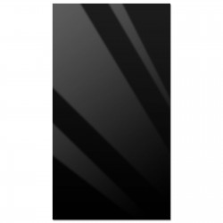 "24"" x 44"" Acrylic Black Replacement Panel"