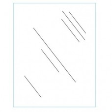 """22"""" x 28"""" Clear Acrylic Plexi Shield"""