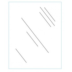 """24"""" x 36"""" Clear Acrylic Plexi Shield"""