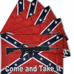 Come And Take It Rebel 3' x 5' Polyseter Flag - 5 Pack