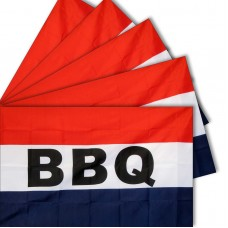 FIVE-BBQ 3'x 5' polyester Business Flag