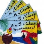 5 O'clock Somewhere 3' x 5' Polyester Flag - 5 pack