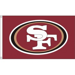 San Francisco 49ers 3' x 5' Polyester Flag