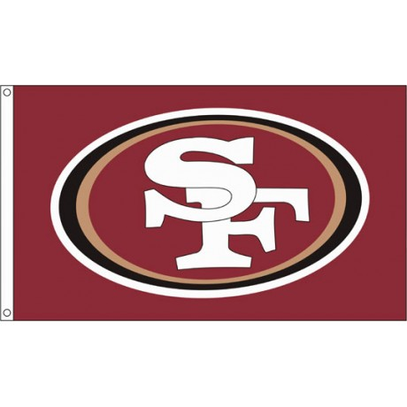 San Francisco 49ers 3'x 5' NFL Flag