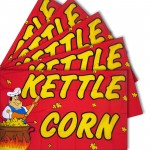 Kettle Corn 3' x 5' Polyester Flag - 5 Pack