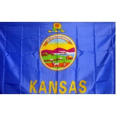 Kansas 3'x 5' State Flag