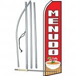Menudo Red Swooper Flag Bundle