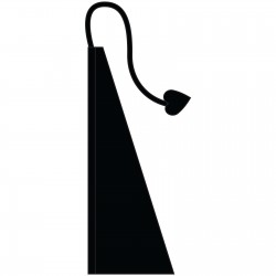 New 13' Windtail Attention Flags Ebony Black