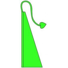 New 13' Windtail Attention Flags Spring Green