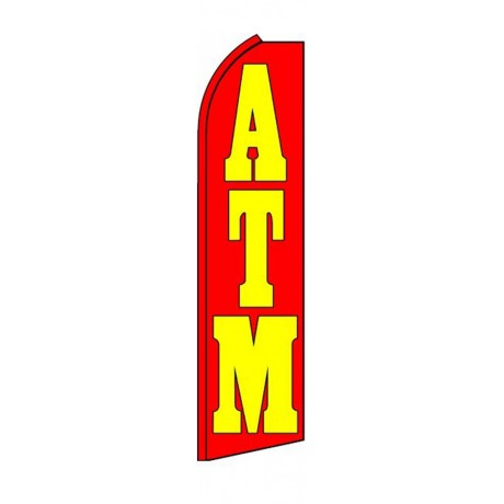 ATM Red Swooper Flag