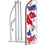 Happy 4th Of July Swooper Flag Bundle