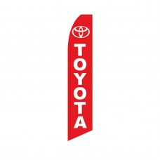 Toyota Red Swooper Flag