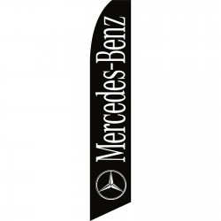 Mercedes-Benz Black Swooper Flag