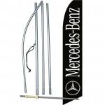 Mercedes-Benz Black Swooper Flag Bundle