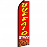 Buffalo Wings Red Swooper Flag