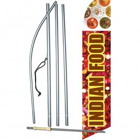 Indian Food Graphic Swooper Flag Bundle