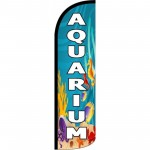 Aquarium Windless Swooper Flag