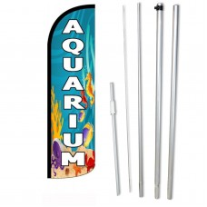 Aquarium Windless Swooper Flag Bundle