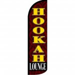 Hookah Lounge Windless Swooper Flag
