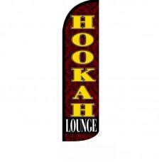 Hookah Lounge Windless Swooper Flag