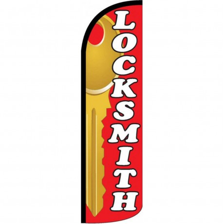 Locksmith Windless Swooper Flag