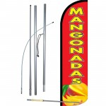 Mangonadas Windless Swooper Flag Bundle