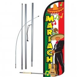 Mariachi Windless Swooper Flag Bundle