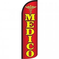 Medico Doctor Windless Swooper Flag