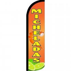 Micheladas Windless Swooper Flag