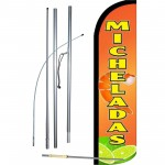 Micheladas Windless Swooper Flag Bundle