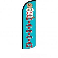 Pediatrician Blue Windless Swooper Flag