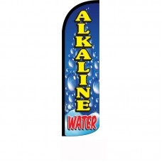 Alkaline Water Windless Swooper Flag