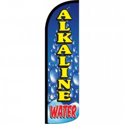 Alkaline Water Windless Swooper Flag
