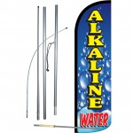Alkaline Water Windless Swooper Flag Bundle