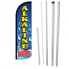 Alkaline Water Windless Swooper Flag Bundle