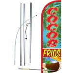 Cocos Frios Windless Swooper Flag Bundle