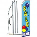 Sale Here Balloon Swooper Flag Bundle
