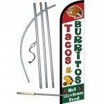 Tacos And Burritos Windless Swooper Flag Bundle