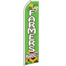 Farmers Market Sunflower Swooper Flag