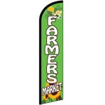 Farmers Market Sunflower Windless Swooper Flag