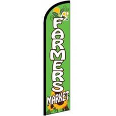 Farmers Market Sunflower Windless Swooper Flag