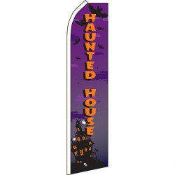 Haunted House Swooper Flag